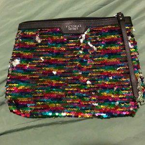 Brand new Victoria's Secret sequin clutch
